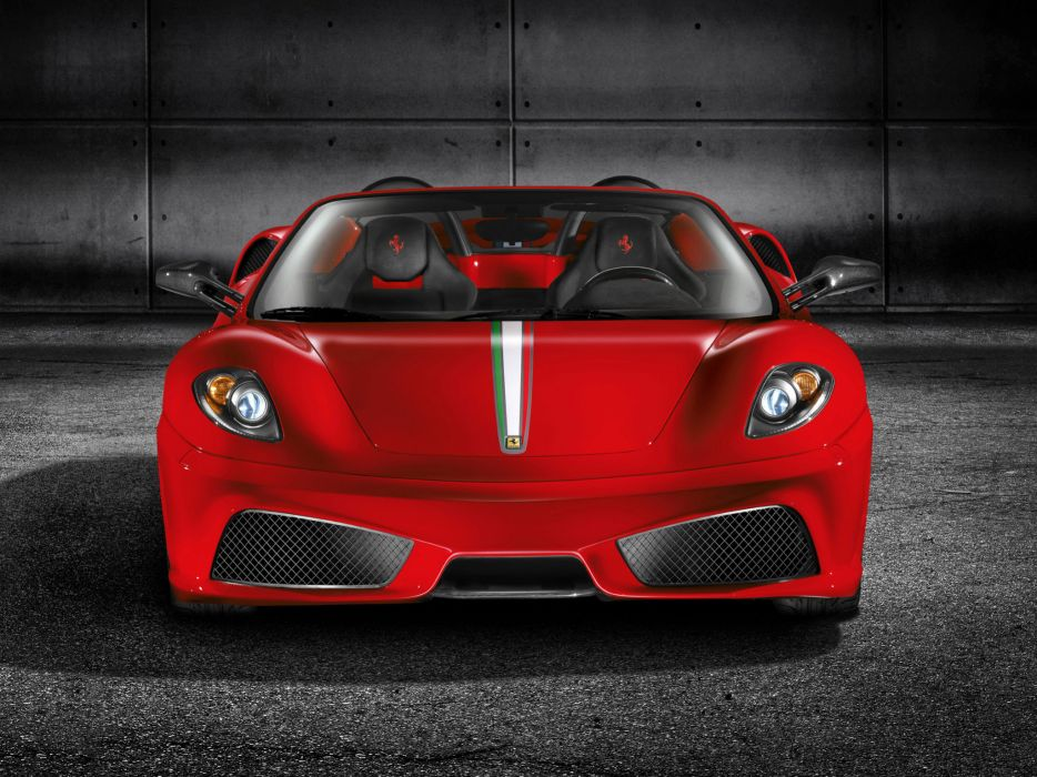 2009 Ferrari Scuderia Spider 16M supercar supercars   d wallpaper