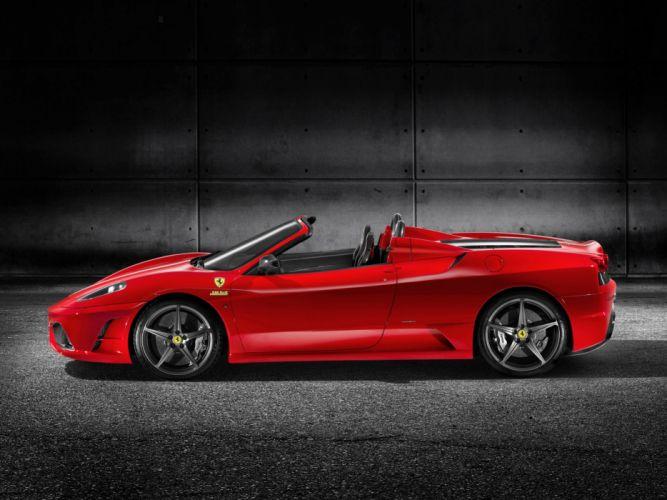 2009 Ferrari Scuderia Spider 16M supercar supercars dx wallpaper