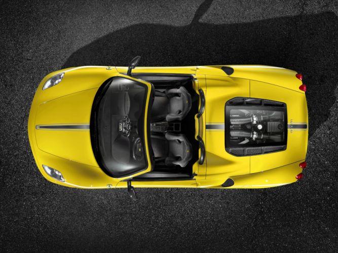 2009 Ferrari Scuderia Spider 16M supercar supercars interior engine engines wallpaper