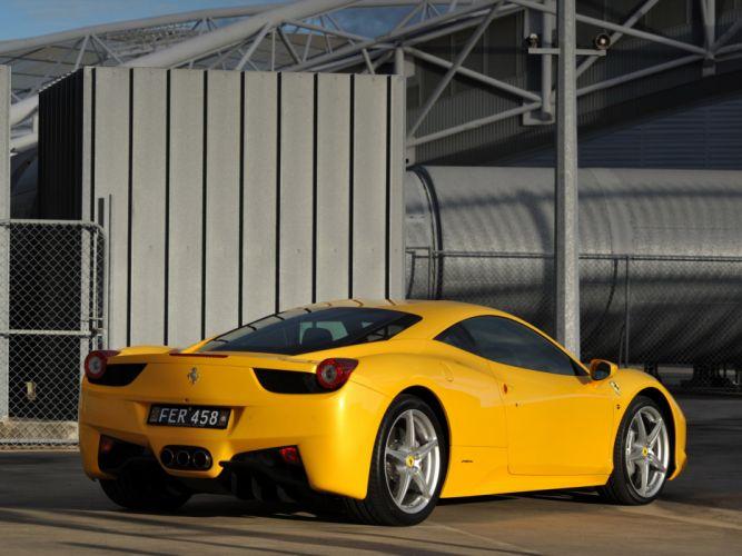 2010 Ferrari 458 Italia supercar supercars f wallpaper