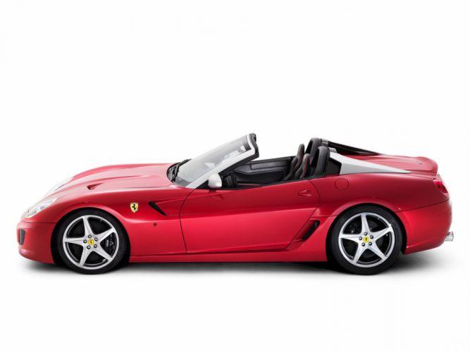 2010 Ferrari 599 SA Aperta supercar supercars s-a d wallpaper
