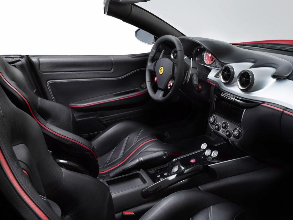 2010 Ferrari 599 SA Aperta supercar supercars s-a interior wallpaper