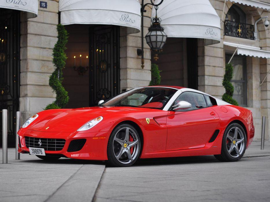 2010 Ferrari 599 SA Aperta supercar supercars s-a wallpaper