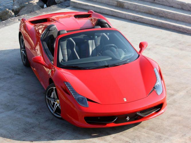 2011 Ferrari 458 Spider supercar supercars f wallpaper