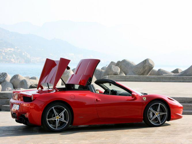 2011 Ferrari 458 Spider supercar supercars g wallpaper