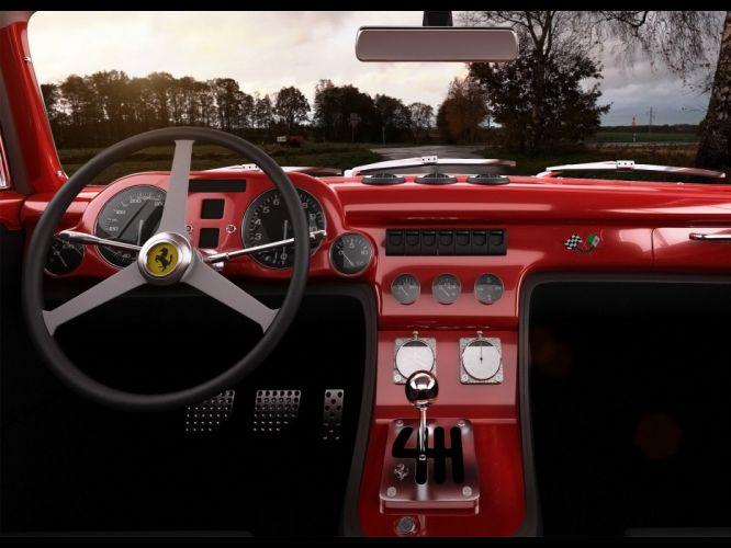 2011 Ferrari F340 Gullwing America GWA Competizione supercar supercars h wallpaper
