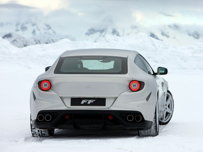 2011 Ferrari Four FF supercar supercars g wallpaper