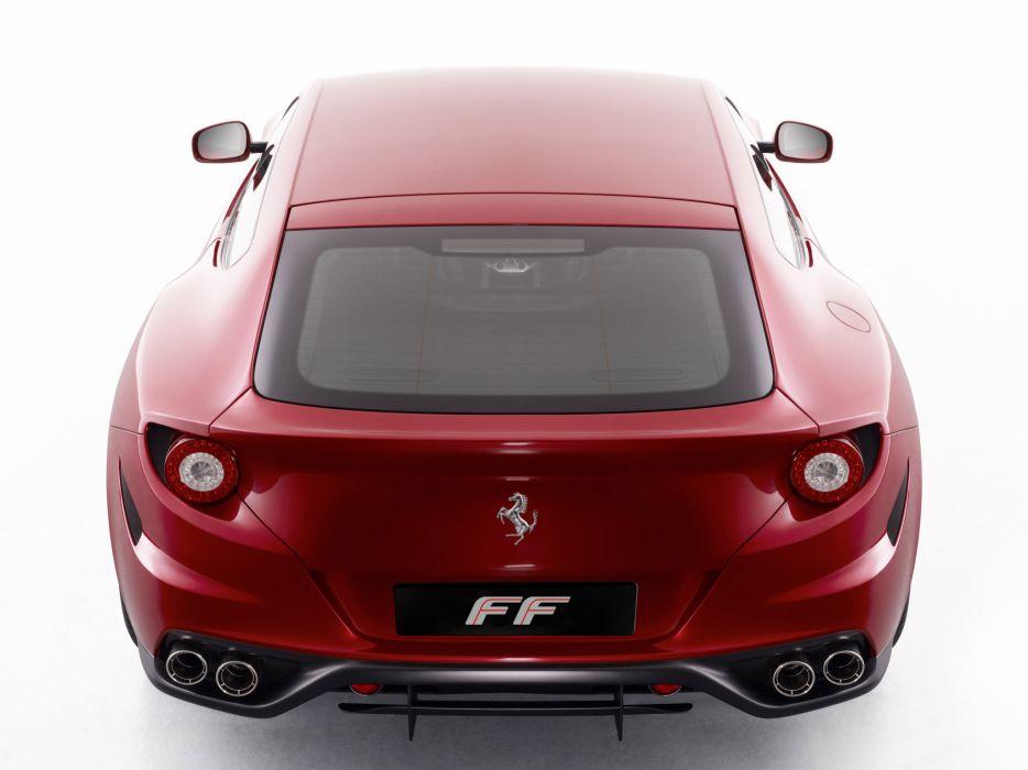 2011 Ferrari Four FF supercar supercars     n wallpaper