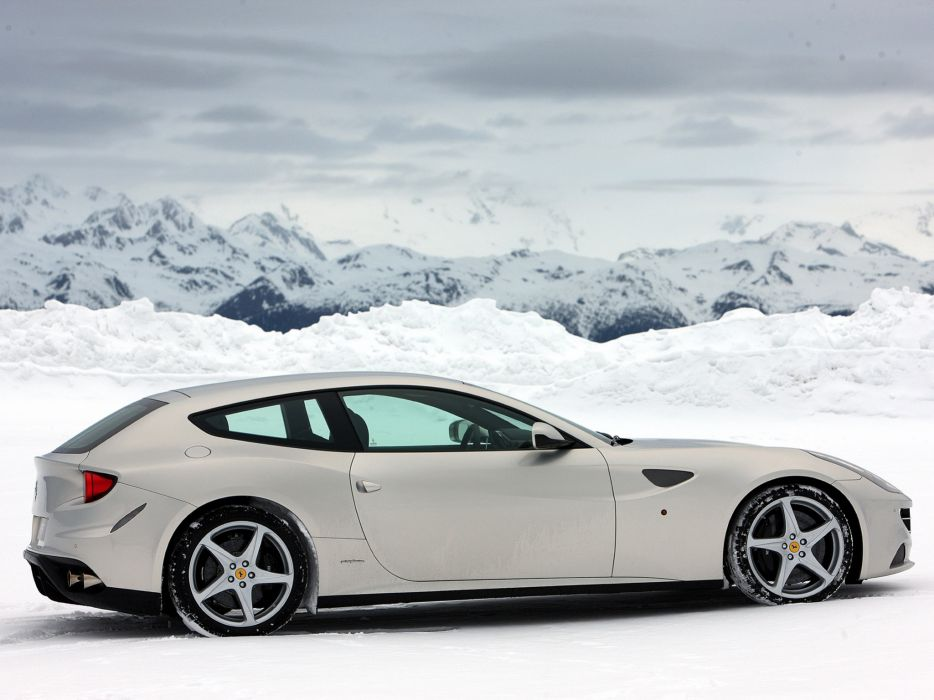2011 Ferrari Four FF supercar supercars   h wallpaper