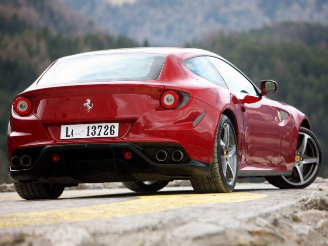 2011 Ferrari Four FF supercar supercars f wallpaper