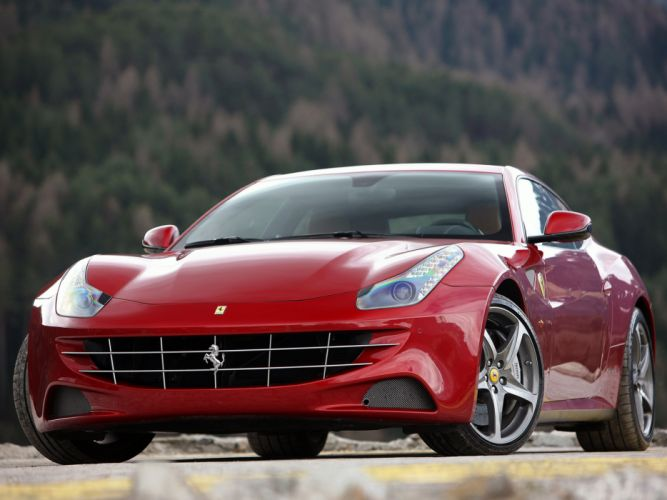 2011 Ferrari Four FF supercar supercars wallpaper