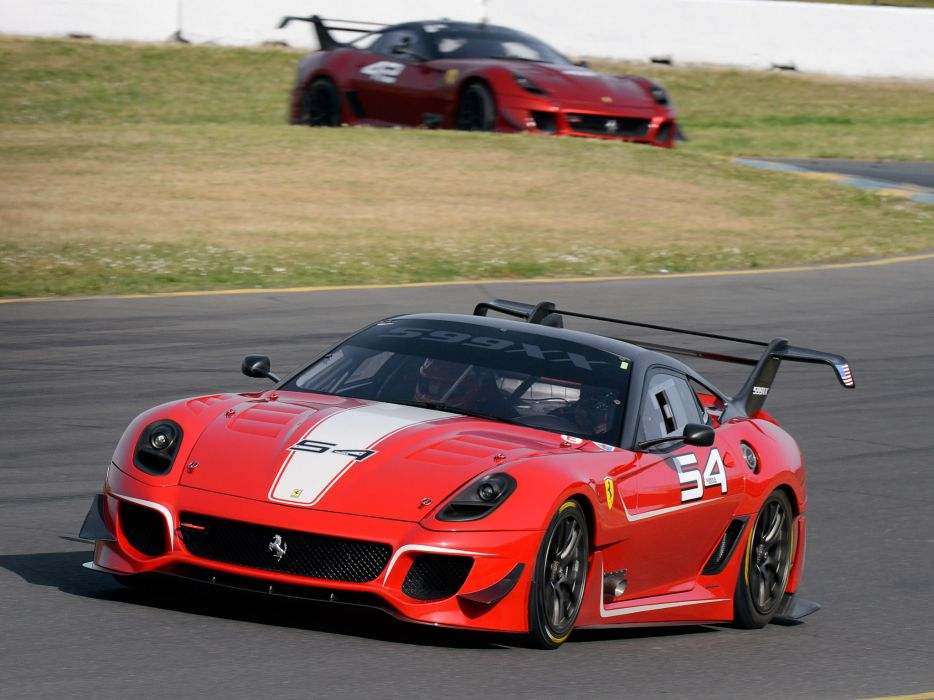 2012 Ferrari 599XX Evoluzione supercar supercars race racing    d wallpaper