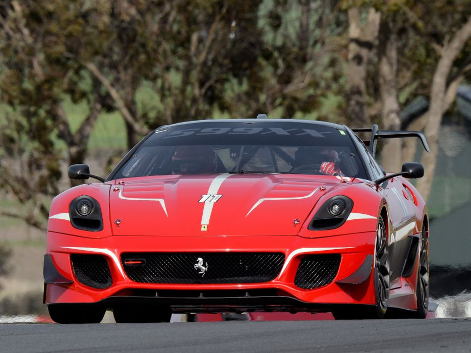 2012 Ferrari 599XX Evoluzione supercar supercars race racing   d wallpaper