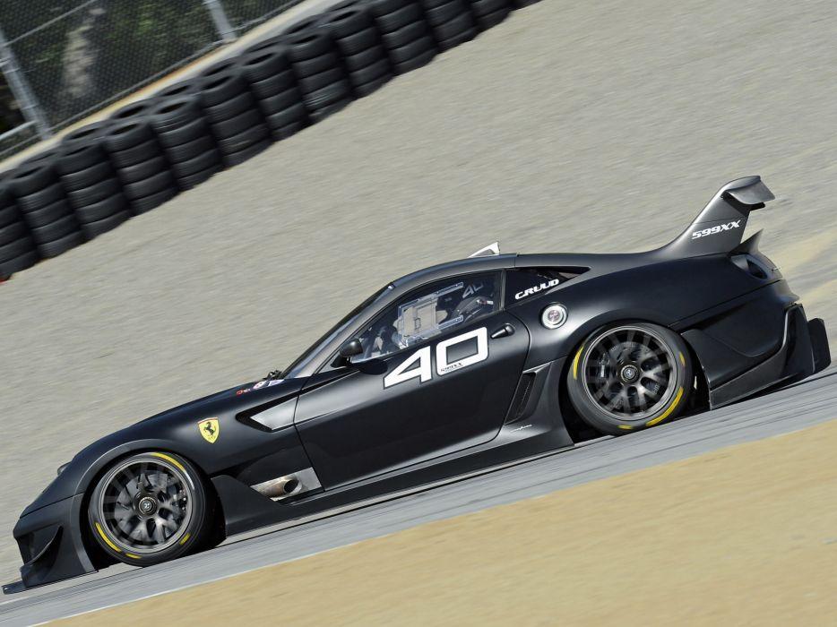 2012 Ferrari 599XX Evoluzione supercar supercars race racing  j wallpaper