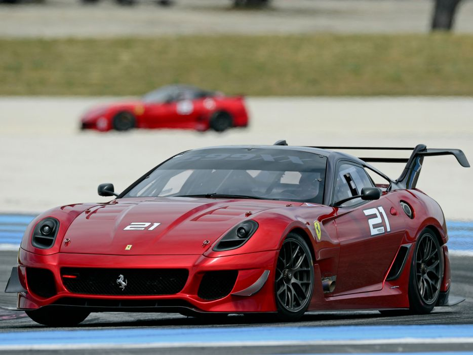 2012 Ferrari 599XX Evoluzione supercar supercars race racing a wallpaper