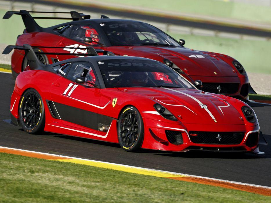 2012 Ferrari 599XX Evoluzione supercar supercars race racing g wallpaper