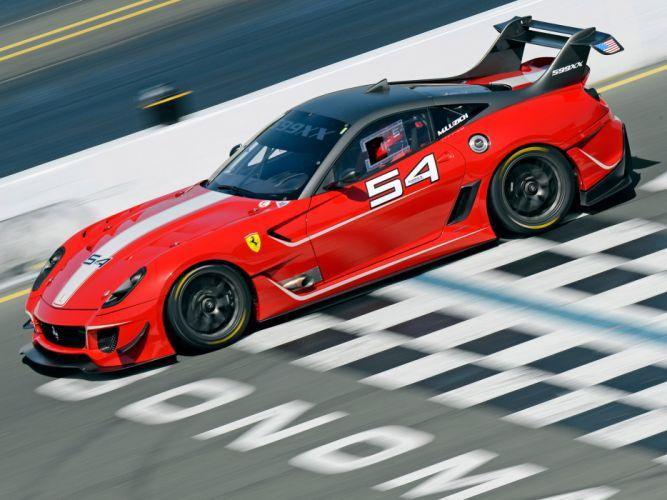 2012 Ferrari 599XX Evoluzione supercar supercars race racing h wallpaper
