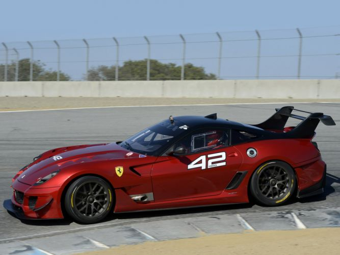 2012 Ferrari 599XX Evoluzione supercar supercars race racing hd wallpaper