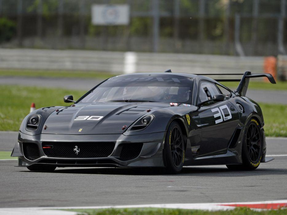 2012 Ferrari 599XX Evoluzione supercar supercars race racing m wallpaper