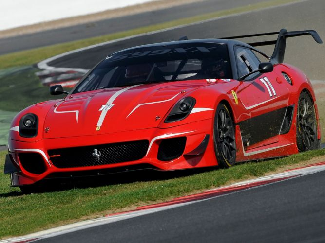 2012 Ferrari 599XX Evoluzione supercar supercars rasce racing wallpaper