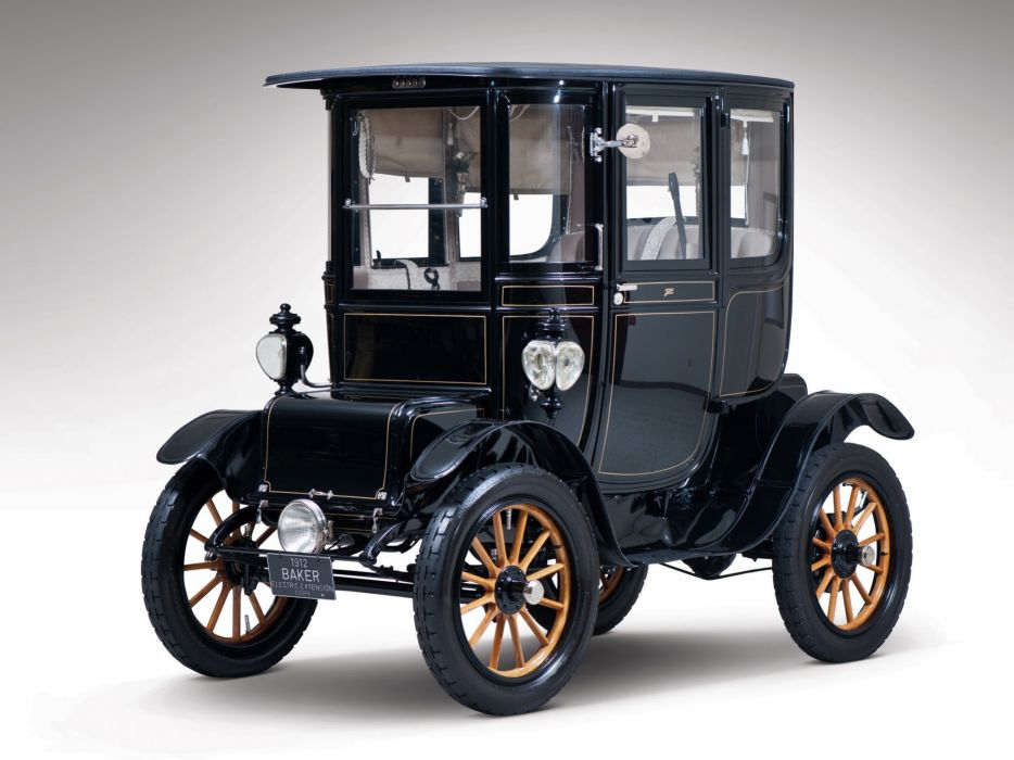 1912 Baker Electric Model-V Special Extension Coupe retro wallpaper