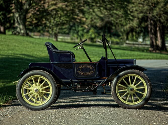 1912 Baker Electric Model-W Runabout retro f wallpaper