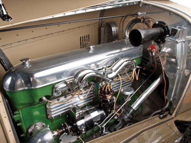 1926 Duesenberg Model-A Phaeton luxury retro engine engines g wallpaper