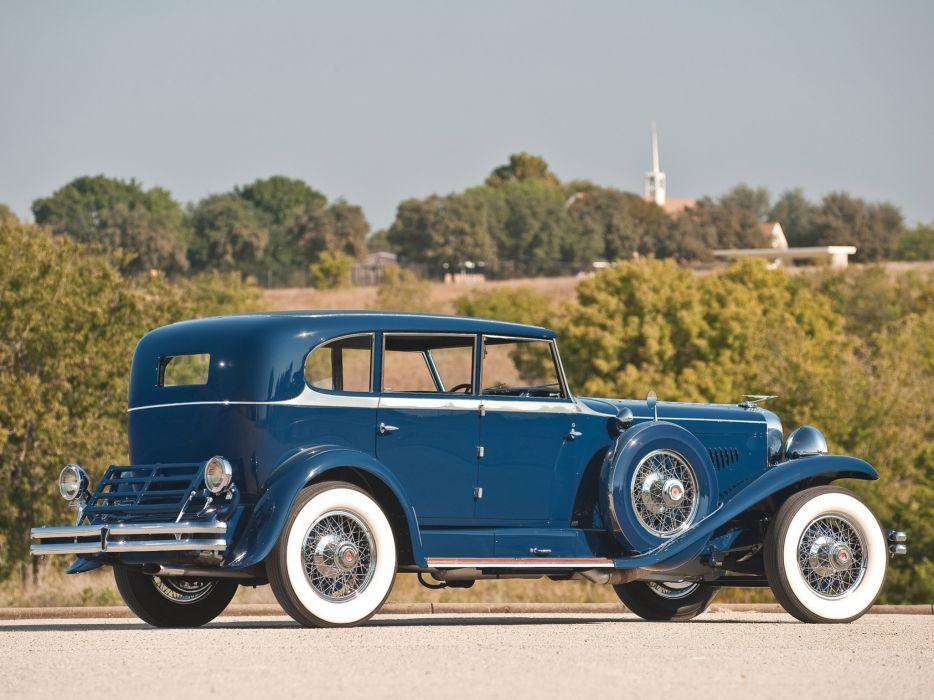 1929 Duesenberg Model- J 187-2209 Clear Vision Sedan SWB luxury retro    g wallpaper