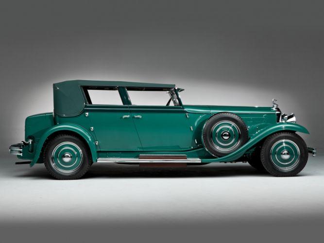 1931 Minerva 8AL Rollston Convertible Sedan retro f wallpaper