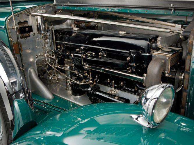 1931 Minerva 8AL Rollston Convertible Sedan retro engine engines wallpaper