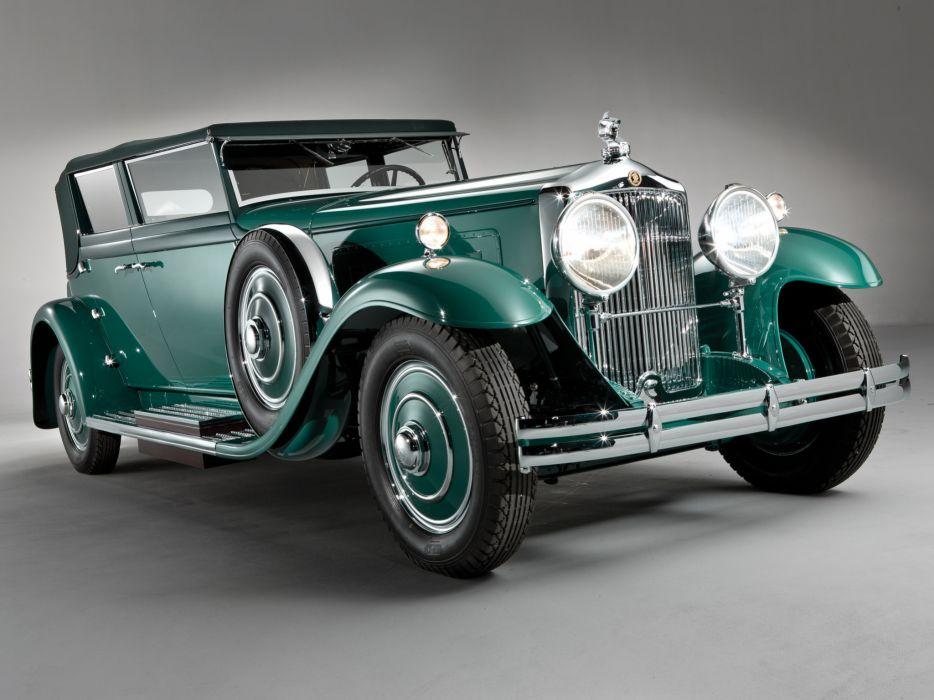 1931 Minerva 8AL Rollston Convertible Sedan retro wallpaper