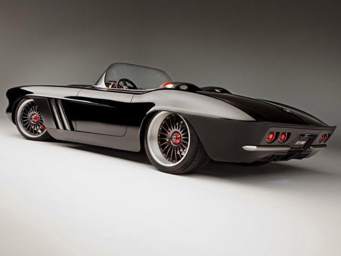 1962 Chevrolet Corvette C1-RS roadster classic muscle supercar supercars fd wallpaper