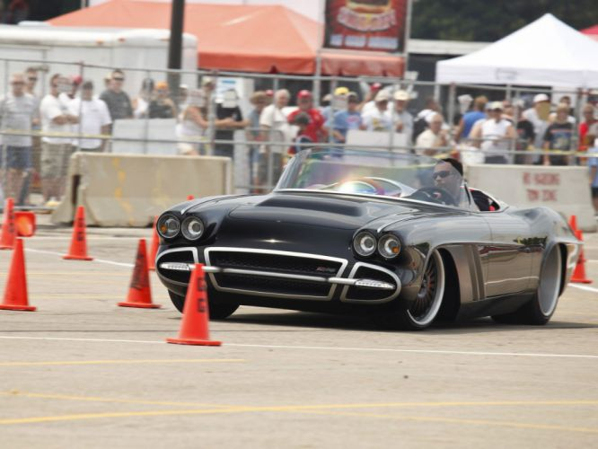 1962 Chevrolet Corvette C1-RS roadster classic muscle supercar supercars f wallpaper