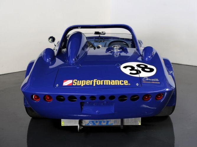 1963 Superformance Chevrolet Corvette Grand Sport Roadster classic muscle supercar supercars race racing g wallpaper
