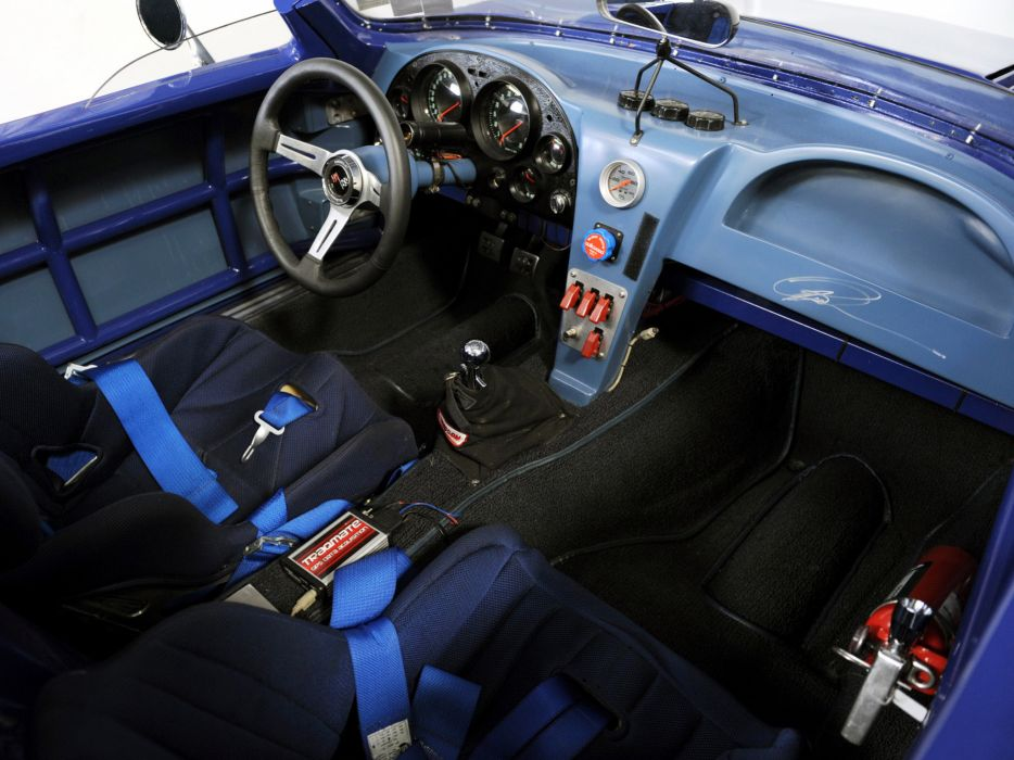 1963 Superformance Chevrolet Corvette Grand Sport Roadster classic muscle supercar supercars race racing interior wallpaper