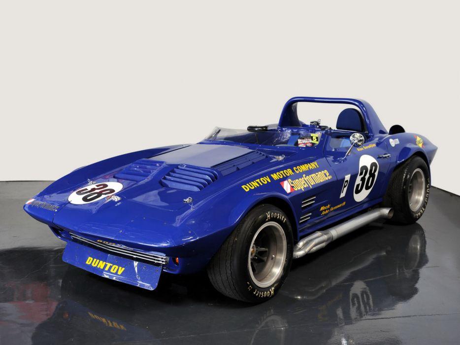 1963 Superformance Chevrolet Corvette Grand Sport Roadster classic muscle supercar supercars race racing wallpaper