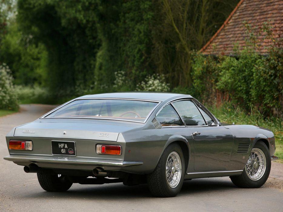 1967 Monteverdi 375-S High Speed supercar supercars classic    f wallpaper