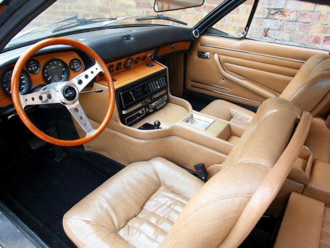 1967 Monteverdi 375-S High Speed supercar supercars classic interior wallpaper