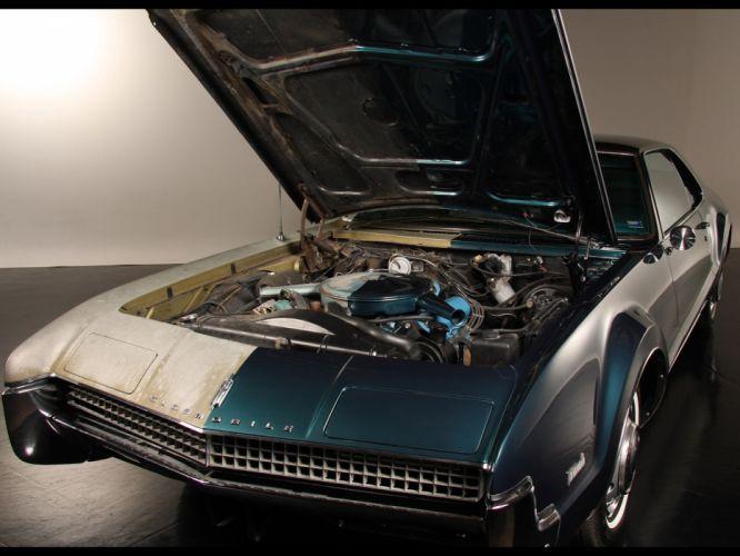 1967 Oldsmobile Toronado classic muscle luxury engine engines wallpaper
