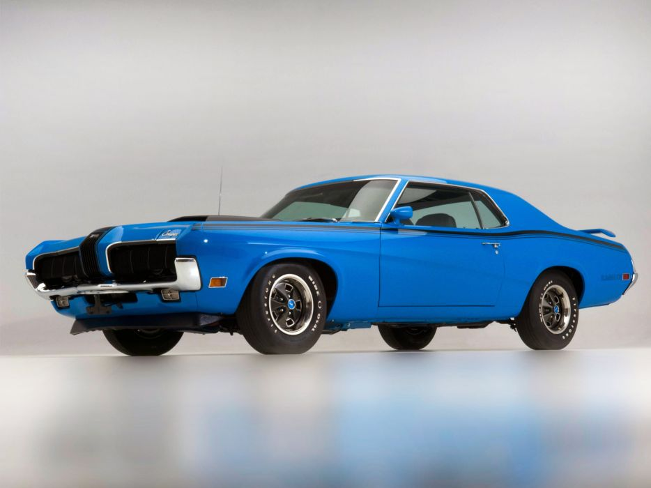1970 Mercury Cougar Eliminator 428 Super Cobra Jet classic muscle  f wallpaper