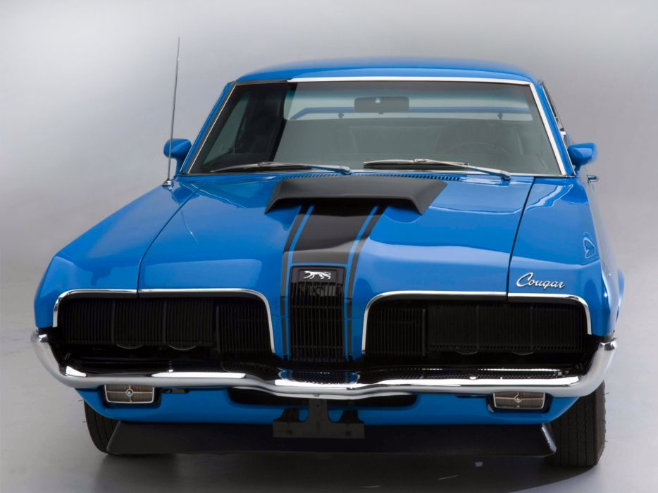 1970 Mercury Cougar Eliminator 428 Super Cobra Jet classic muscle wallpaper