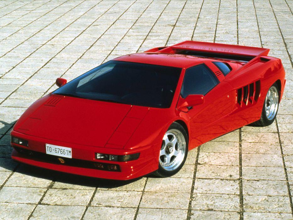 1991 Cizeta Moroder V16T supercar supercars wallpaper