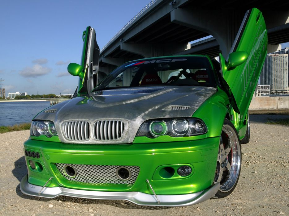 2005 MCP-Racing BMW M-3 Hulk E46 tuning      g wallpaper
