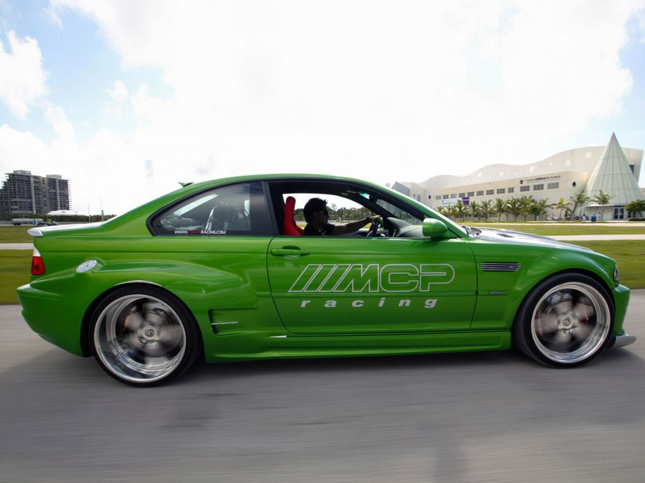 2005 MCP-Racing BMW M-3 Hulk E46 tuning   g wallpaper