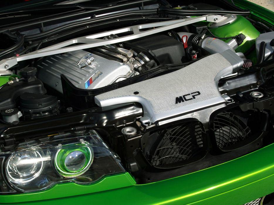 2005 MCP-Racing BMW M-3 Hulk E46 tuning engine engines wallpaper