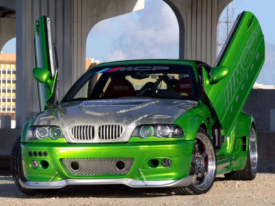 2005 MCP-Racing BMW M-3 Hulk E46 tuning gf wallpaper