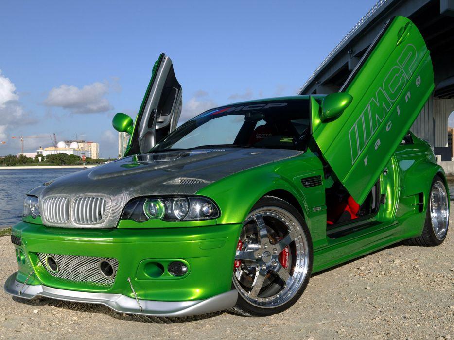2005 MCP-Racing BMW M-3 Hulk E46 tuning wallpaper