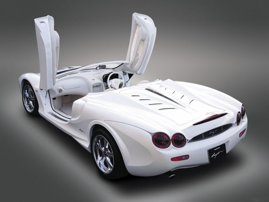 2005 Mitsuoka Orochi Nude-Top supercar supercars interior wallpaper