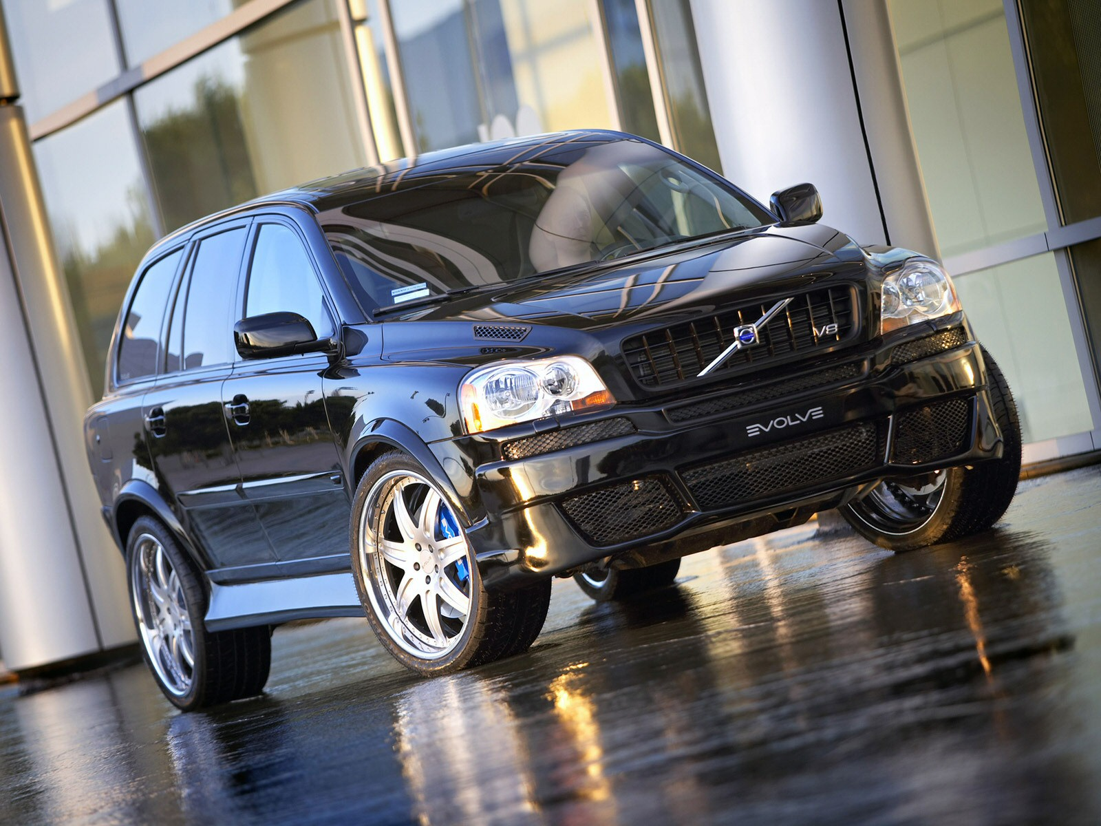 2006 evolve volvo xc90 v 8 suv tuning wallpaper. Black Bedroom Furniture Sets. Home Design Ideas