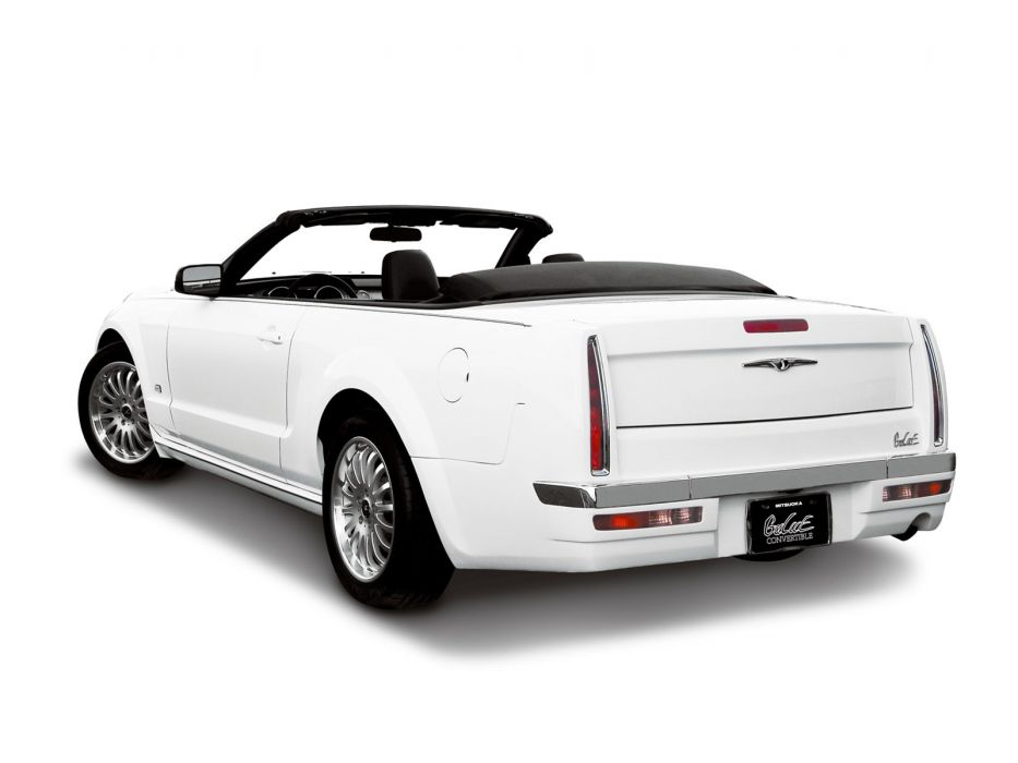 2007 Mitsuoka Galue Convertible luxury   f wallpaper